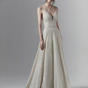 Sottero and Midgley Ombre Wedding Dress. SZ 10